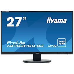 "iiyama ProLite monitor X2783HSU-B3 27"" AMVA+, Full HD, Black, HDMI, Display Port, USB Hub thumbnail 0"