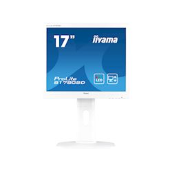 "iiyama ProLite monitor B1780SD-W1 17"" 5:4 Black, Height Adjustable, White"