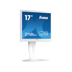 "iiyama ProLite B1780SD-W1 17"" 5:4 Black, Height Adjustable, White thumbnail 1"