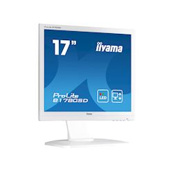 "iiyama ProLite B1780SD-W1 17"" 5:4 Black, Height Adjustable, White thumbnail 4"