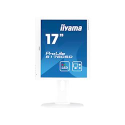 "iiyama ProLite B1780SD-W1 17"" 5:4 Black, Height Adjustable, White thumbnail 6"