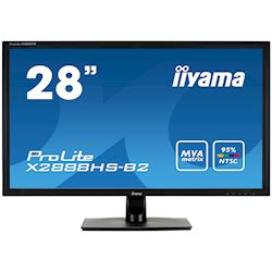 "iiyama ProLite X2888HS-B2 28"" VA 24 bit (95% NTSC Gamut), Full HD, Black, HDMI, Display Port  thumbnail 0"