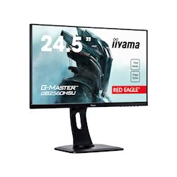 "iiyama G-Master Red Eagle gaming monitor GB2560HSU-B1 24.5"" Black, Ultra Slim Bezel, Full HD, 144Hz, 1ms, FreeSync, HDMI, Display Port, USB Hub thumbnail 1"