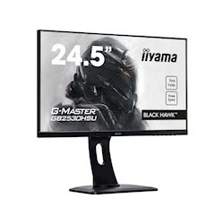 "iiyama G-Master Black Hawk GB2530HSU-B1 24.5"" Black, Ultra Slim Bezel, Full HD, 75Hz, 1ms, FreeSync, HDMI, Display Port, USB Hub thumbnail 1"