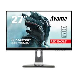 "iiyama G-Master Red Eagle gaming monitor GB2760QSU-B1 27"" Black, 2560 x 1440, 1ms, 144hz, FreeSync, HDMI, Display Port,Height Adjustable"