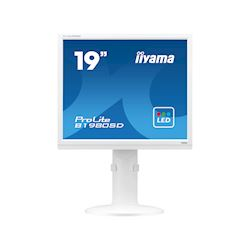 "iiyama ProLite monitor B1980SD-W1 19"" 5:4 Black, Height Adjustable, White thumbnail 0"