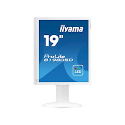 "iiyama ProLite monitor B1980SD-W1 19"" 5:4 Black, Height Adjustable, White thumbnail 7"