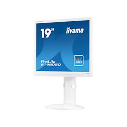 "iiyama ProLite monitor B1980SD-W1 19"" 5:4 Black, Height Adjustable, White thumbnail 2"