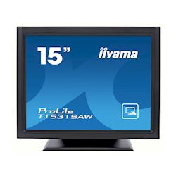 "iiyama ProLite T1531SAW-B5 15"" Black, 5:4, Surface Acoustic Wave single touch"